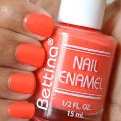 Bettina Nail Enamel   Sherbet Nail Polish #nailpolish
