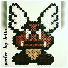 Paragoomba perler beads by perler_by_lotta