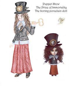 Vanda's Secret Wardrobe - Porcelain doll by maya40.deviantart.com on @DeviantArt