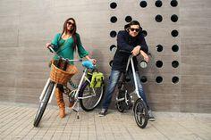 Ella Bicicleta de paseo aro 26 canasto y accesorios Alma El con bicicleta plegable lo encuentras en www.velochic.cl Stgo-Chile Fotógrafa Daniela Burgos
