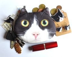 Crazy Cat Lady Wallet - you can stuff it to the brim! ;) sold by Barking King