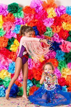 Baile de carnaval infantil.