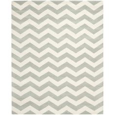 Found it at Wayfair - Chatham Chevron Grey/Ivory Area Rug