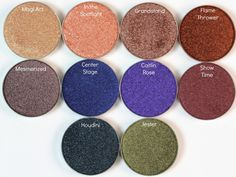 Review & Swatches: Makeup Geek Foiled Eyeshadows - The Daily Bailey B