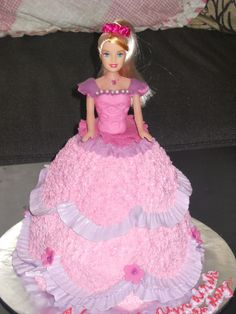 pincess dress cakes | MyPu3 Cake House: Princess Cake for Aleesya
