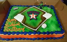 Houston Astros Cake