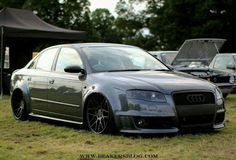 Lowered Audi