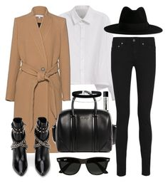 """""""Untitled #2743"""" by briarachele ❤ liked on Polyvore featuring Y's by Yohji Yamamoto, IRO, Yves Saint Laurent, Ray-Ban, Aesop, Givenchy and Miss Selfridge"""