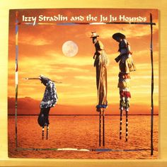 IZZY STRADLIN AND THE JUJU HOUNDS - Same - Vinyl LP 1992 Guns ´n Roses Original