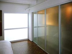 Discover how our modern sliding glass closet doors can add space and style to rooms in your home. We offer a variety of sliding styles to suit any budget. Sliding Glass Closet Doors, Sliding Door Company, Bedroom Cupboards, Closet Designs, Modern Glass, Closets, Furniture Decor, Nest, Modern Design