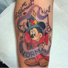 Mickey disney tattoo