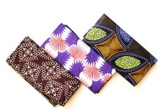 African Print Material laid out