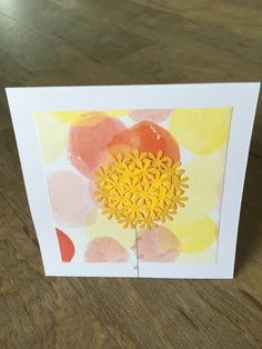 Card with Flower £3.80