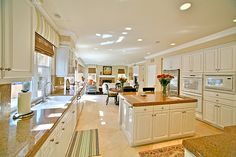 the kitchen will always be the most important part of the house to me... one like this would be perfect