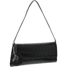 Picard Auguri Damentasche Leder 26 cm schwarz - kroko - http://herrentaschenkaufen.de/picard/schwarz-kroko-picard-auguri-damentasche-leder-26-2