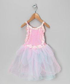 Take a look at this Pink & Turquoise Sequin Tutu Dress - Toddler & Girls by My Princess Academy on #zulily today!