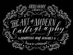 learn modern calligraphy! I've been wanting to do this so I just signed up. It's only $20 and this link will get you $10 off your first class. click thru