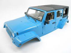 New Bright Jeep Wrangler Unlimited Hard Body Steel Roll Cage 1/10 Scale Crawler #RC4WDNewBright