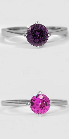Sapphire True North Rings