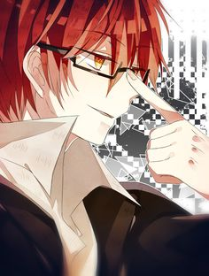 *Squeals* Karma in glasses >///< Now I also want to see Nagisa in glasses - DA