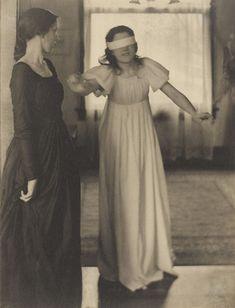 Clarence H. White. Blindman's Buff. 1898