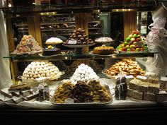 Gilli pastry shop in Florence Italy