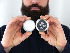 DIY Beard Balm >> ht