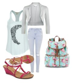 """Tag"" by rikerlynchsbae ❤ liked on Polyvore"