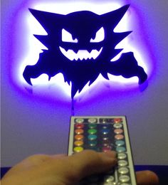 Today I am taking a look at 6 unofficial Pokemon gifts that are weirdly awesome and would make any hardcore fan happy. Haunter Pokemon LED Backlit Wall Light Remote Control …