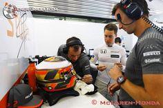 """Vandoorne: """"La penalización era cuestión de tiempo""""  #F1 #Formula1 #RussianGP"""