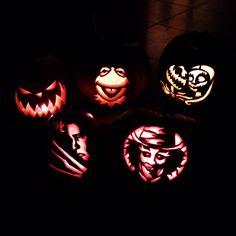 Pumpkin Carving with zombie pumpkins.com!!