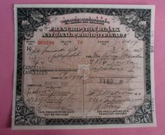 Vintage Antique Pharmacy Prohibition Whiskey Prescription Medical Alcohol For a Woman 1927 Pittsburgh, Pennsylvania