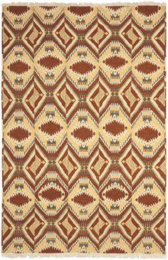 David Easton rug in Paprika. #Safavieh