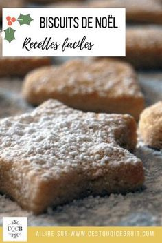Recette des biscuits de Noël #recette #noel #food #biscuits