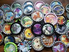POKEMON CARD  15 PENDANT holo Gift Lot Party Favor Mix Charm Necklace Keychain Magnet. $25.00, via Etsy.