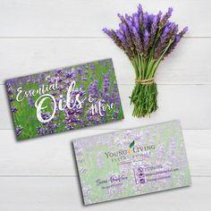 Essential Oils Business Cards