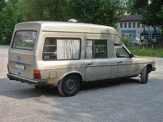 Mercedes W123 camper? A bit odd... Not sure of its origin.