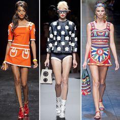 Fashion Trend Spring 2013 - Retro Play