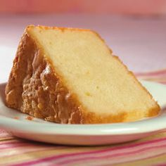 Buttermilk Pound Cake- seriously the best recipe I've tried