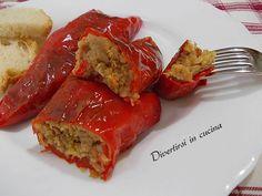 Ricetta peperoni ripieni di tonno al forno Divertirsi in cucina