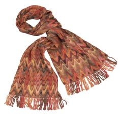 Color Waves Scarf #tenthousandvillages (Ten Thousand Villages works to empower and provide economic opportunities to artisans in developing countries.)