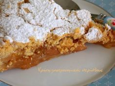 Κυδωνόπιτα, το γλύκισμα του Οκτώβρη Greek Sweets, Greek Desserts, Greek Recipes, Desert Recipes, Cookbook Recipes, Sweets Recipes, Candy Recipes, Cooking Recipes, Crazy Cakes