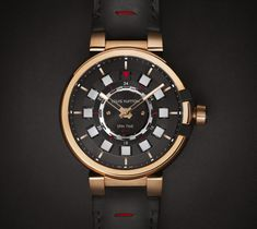 Louis Vuitton Tambour eVolution Spin Time Technologie, Montres, Chaussures Louis  Vuitton Hommes, Louis cdb3ae8202b