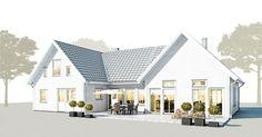 Swedish New England Style House