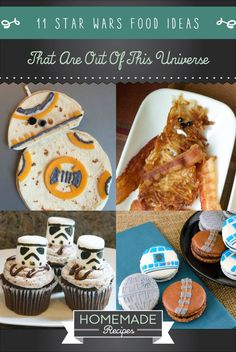 11 Star Wars Food Ideas That Are Out Of This Universe | Fun And Creative DIY Party Food Ideas by Homemade Recipes at  homemaderecipes.c...