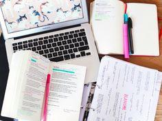 saturday morning studying.