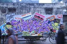 ARTIST: Tones One (EDK Crew) - Permanent Spraycation  via: #Yellowmenace | #streetart #graffiti #AsianInspired http://yellowmenace.tumblr.com/tagged/Asian%20inspired