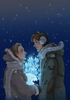 Sam/Gabriel. I ship samifer more but this is just so pretty ;o;