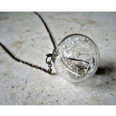 Baby's Breath Terrarium Necklace