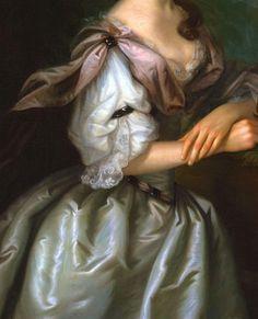 "The Enchanted Garden ...   ""Portrait of Mrs. Samuel Cutts"" (c.1762-1763)..."